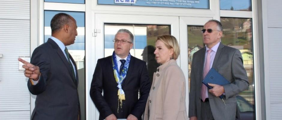"Direktor GOLD projekta Gabriel Abraham posjetio Poslovnu zonu ""Pilana"""