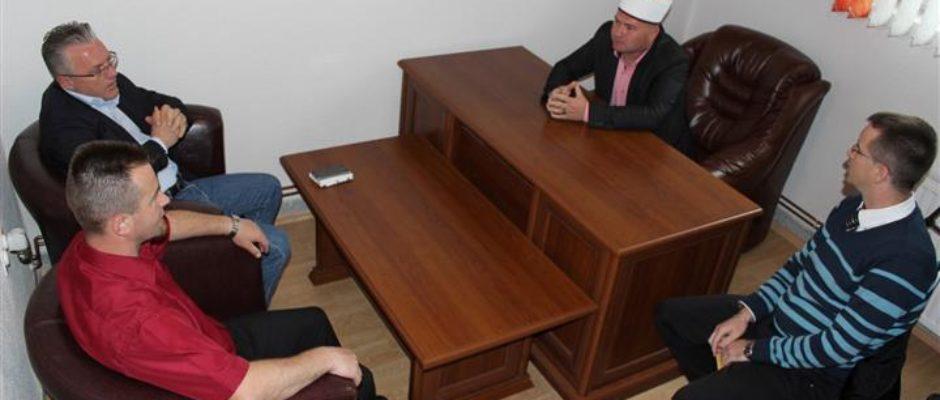 Načelnik Armin Halitović u posjeti Medžlisu IZ Bosanska Krupa