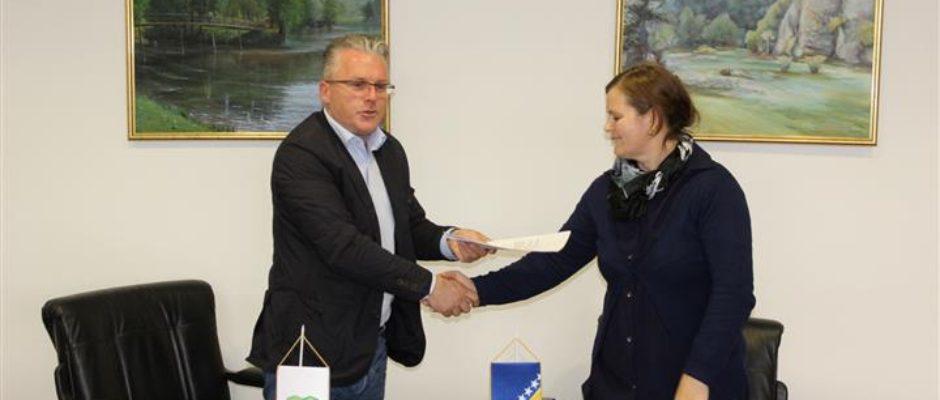 """Potpisan ugovor o izvođenju radova na uklanjanju objekata u poslovnoj zoni """"Vatreni mlin"""""""