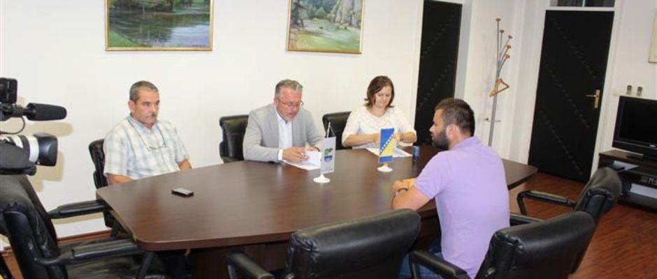 Potpisan ugovor za izgradnju dijela sekundarne vodovodne mreže u Jezerskom i Gornjim Selimagićima