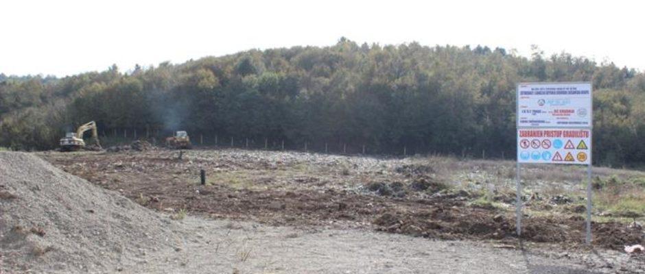 Počela sanacija deponije Krivodol u Bosanskoj Krupi vrijedna oko 1.5 milion KM